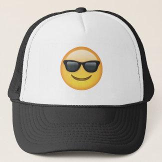 Mr. Cool Emoji Trucker Hat