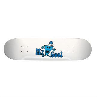 Mr Cool Logo 2 Skate Board