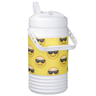 Mr Cool Sunglasses Emoji Cooler