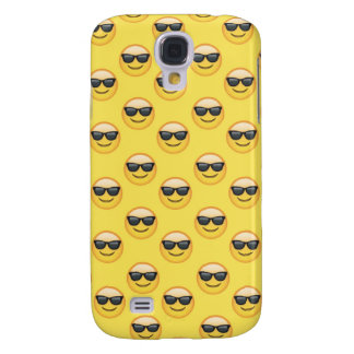 Mr Cool Sunglasses Emoji Galaxy S4 Case