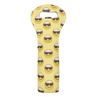 Mr Cool Sunglasses Emoji Wine Bag