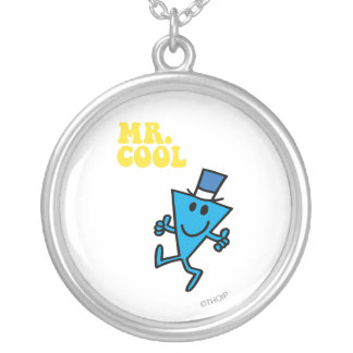 Mr. Cool | Yellow Lettering Silver Plated Necklace