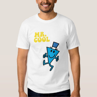 Mr. Cool   Yellow Lettering T-shirt