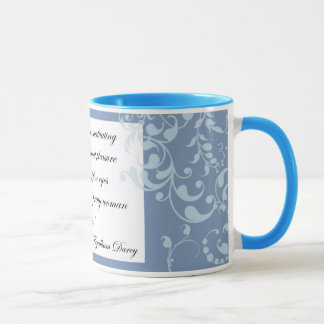 Mr. Darcy coffee mug