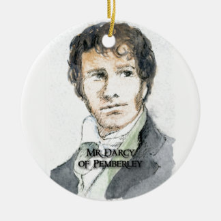 Mr Darcy of Pemberley Ceramic Ornament