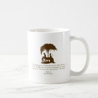 Mr Darcy's Proposal Basic White Mug