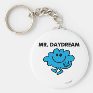 Mr. Daydream Classic Pose Basic Round Button Key Ring