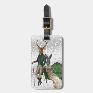 Mr Deer and Mrs Rabbit Luggage Tag