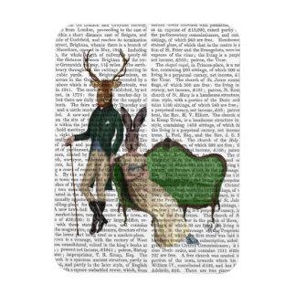 Mr Deer and Mrs Rabbit Rectangular Photo Magnet