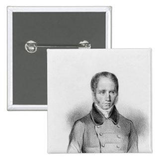 Mr Dupin 15 Cm Square Badge