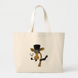 Mr. Elegance Large Tote Bag