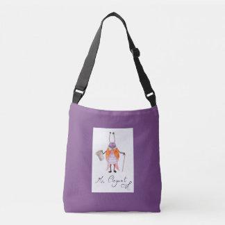 """Mr. Elegant"" Kids Body Bag Purple"