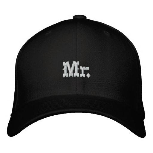 Mr. Embroidered Baseball Caps