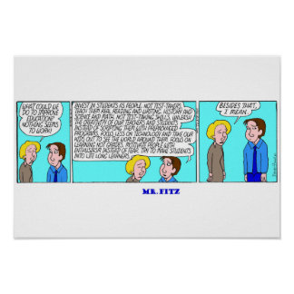 Mr. Fitz - The Solution For Education Poster