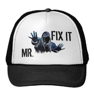 Mr. Fix it designer cap Trucker Hat