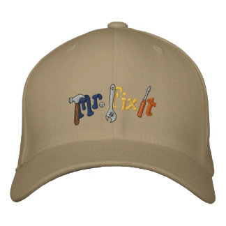 Mr Fix It Embroidered Baseball Cap