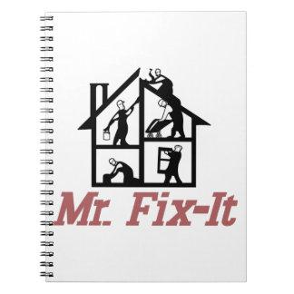 Mr. Fix-it Notebook