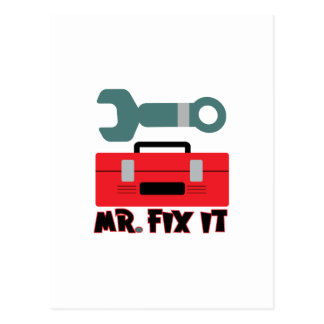 Mr. Fix It Postcard