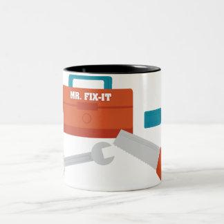 Mr. Fix-It Two-Tone Coffee Mug