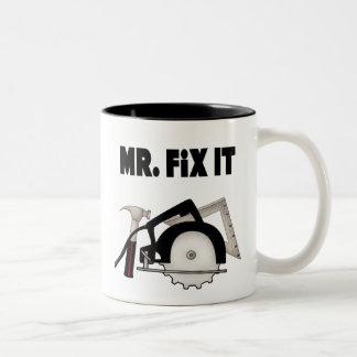 Mr Fix It Two-Tone Mug