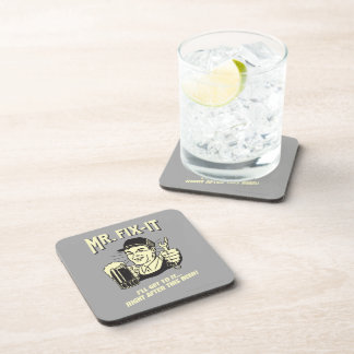 Mr. Fixit: After this Beer Drink Coasters