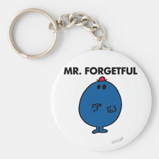 Mr. Forgetful | What Was I Doing Basic Round Button Key Ring
