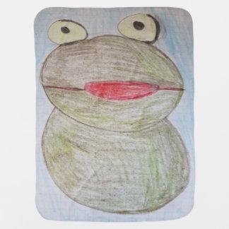 Mr. Frog Baby Blanket