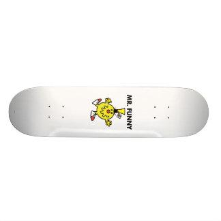 Mr. Funny   Funny Face 20.6 Cm Skateboard Deck
