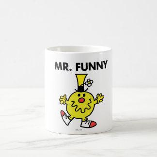Mr. Funny | Funny Face Basic White Mug