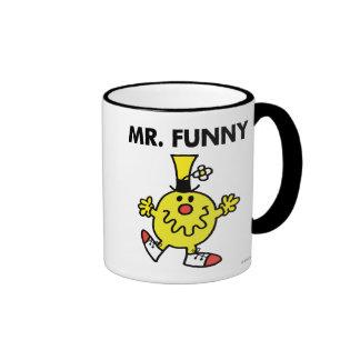 Mr. Funny | Funny Face Ringer Mug