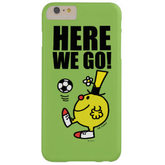 Mr. Funny Juggling A Soccer Ball Barely There iPhone 6 Plus Case
