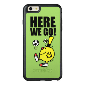 Mr. Funny Juggling A Soccer Ball OtterBox iPhone 6/6s Plus Case