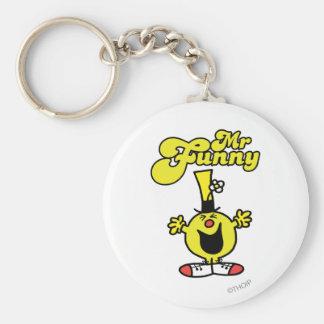 Mr Funny Logo 1 Keychain