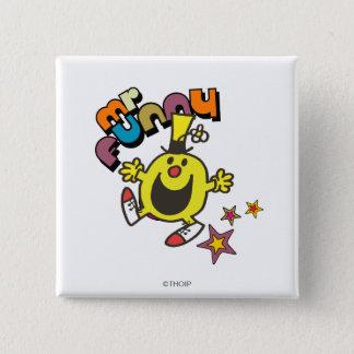 Mr. Funny | Shining Stars 15 Cm Square Badge