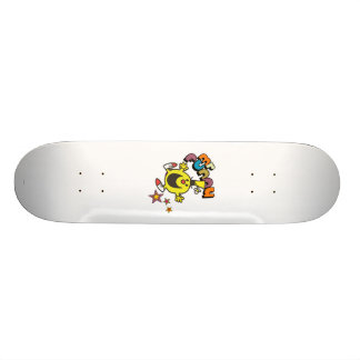 Mr Funny Stars Skate Deck