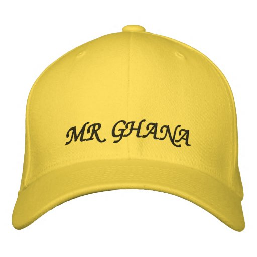 MR GHANA EMBROIDERED HATS