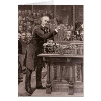 Mr. Gladstone Card