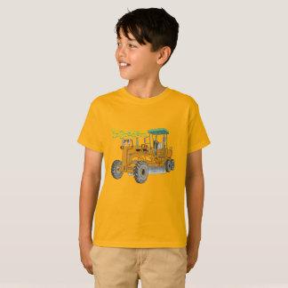 Mr.Gradern construction vehicle motor grader the T-Shirt