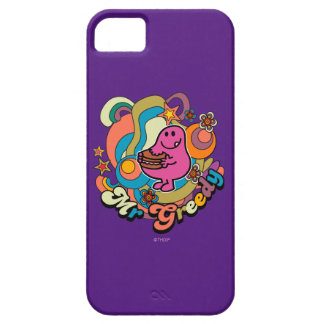 Mr. Greedy | Colorful Swirls & Stars iPhone 5 Cases