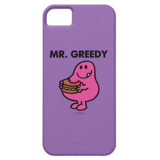 Mr. Greedy Eating Cake Barely There iPhone 5 Case