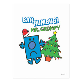 Mr. Grumpy | Bah Humbug Postcard