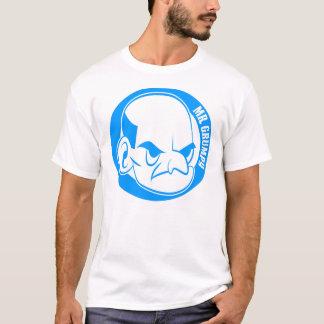 Mr Grumpy Basic T-Shirt, White T-Shirt