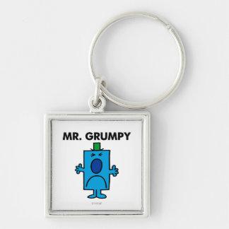 Mr Grumpy Classic Key Chain