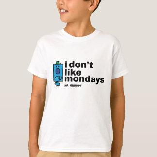 Mr. Grumpy Does Not Like Monday T-Shirt