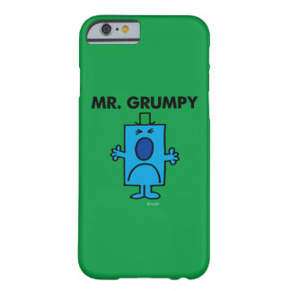 Mr. Grumpy | Frowning Face Barely There iPhone 6 Case