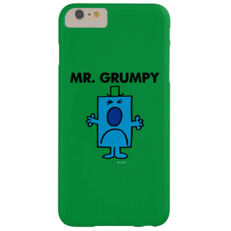 Mr. Grumpy | Frowning Face Barely There iPhone 6 Plus Case