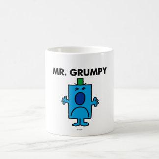 Mr. Grumpy | Frowning Face Basic White Mug