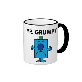 Mr. Grumpy | Frowning Face Ringer Mug