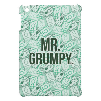 Mr Grumpy | Green Name and Character Toss Pattern Cover For The iPad Mini