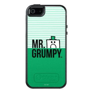 Mr Grumpy | Peeking Head Over Name 2 OtterBox iPhone 5/5s/SE Case